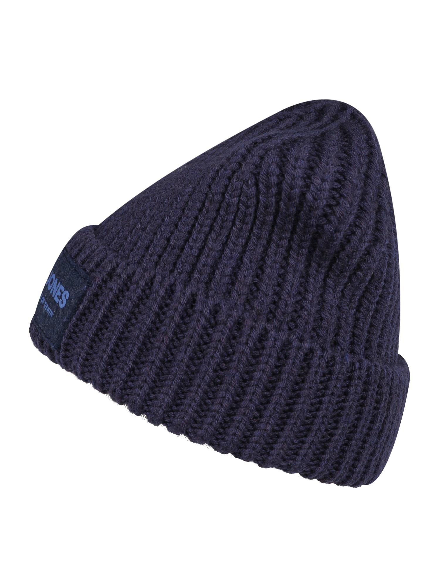 Jack & Jones Junior Megzta kepurė tamsiai mėlyna