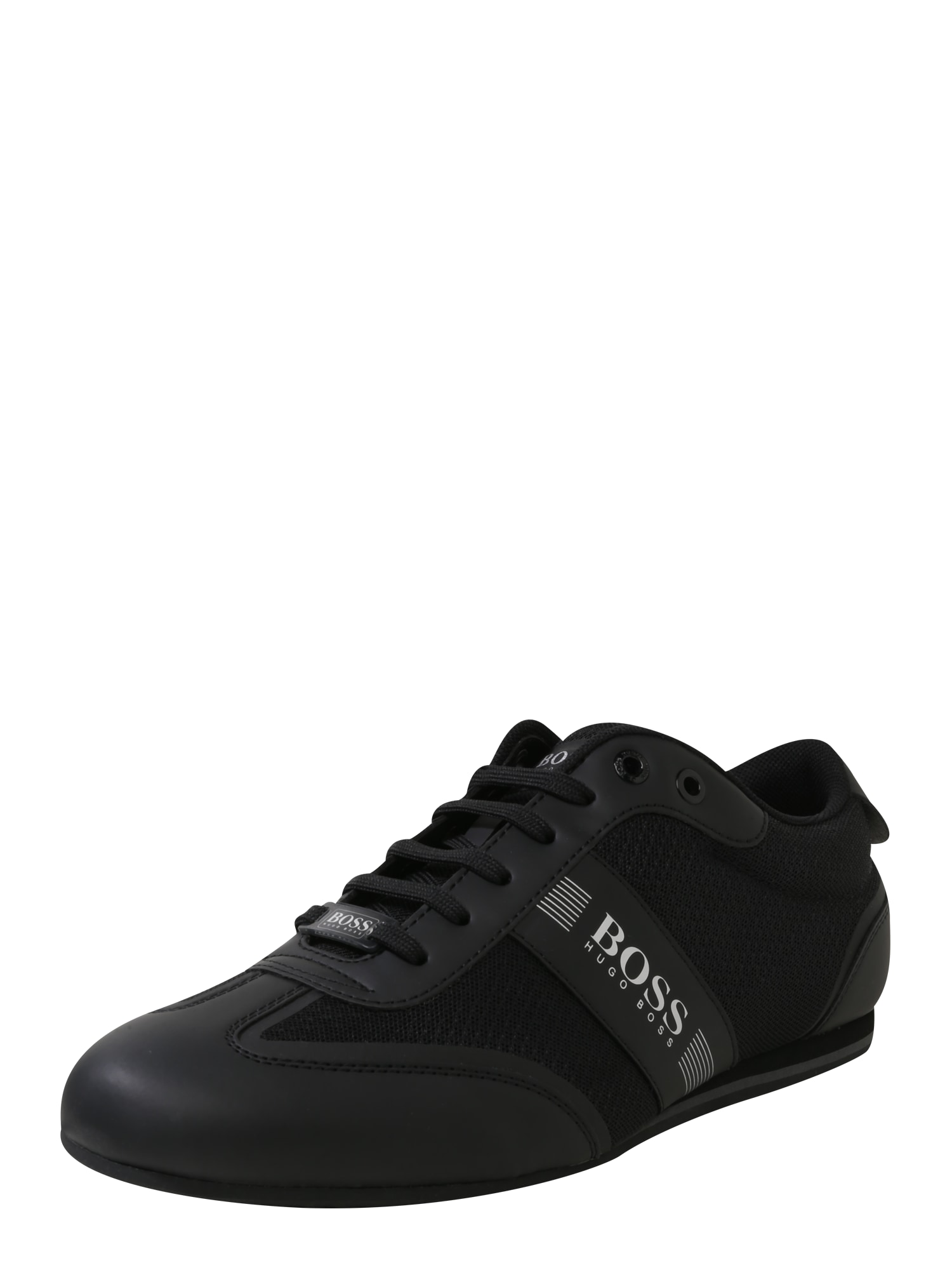 BOSS Sportinio stiliaus batai su raišteliais 'Ligter' juoda