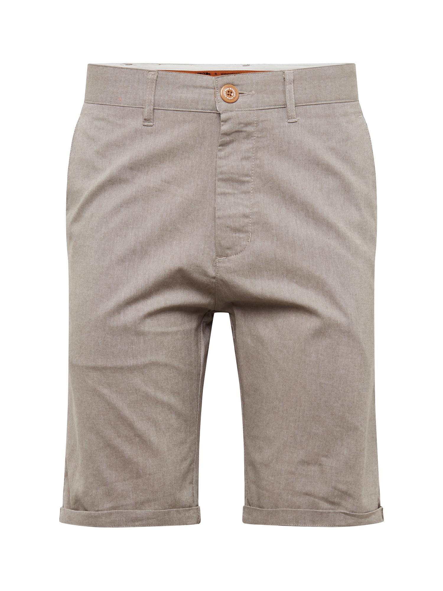 Chino kalhoty Golfer Chambray světle šedá Iriedaily