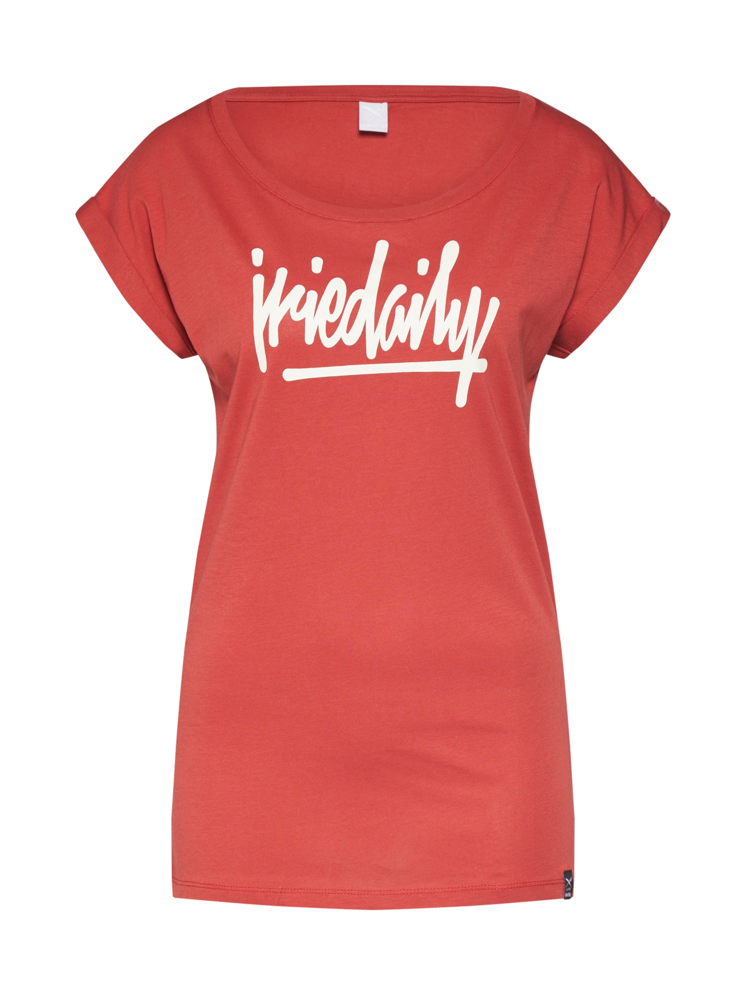 Tričko Taggety oranžově červená Iriedaily