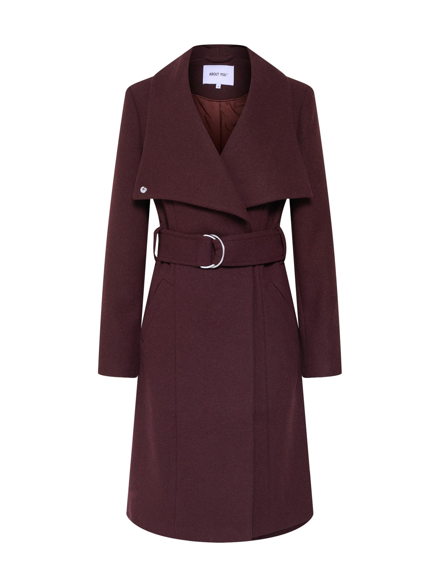 ABOUT YOU Rudeninis-žieminis paltas 'Alma' ruda