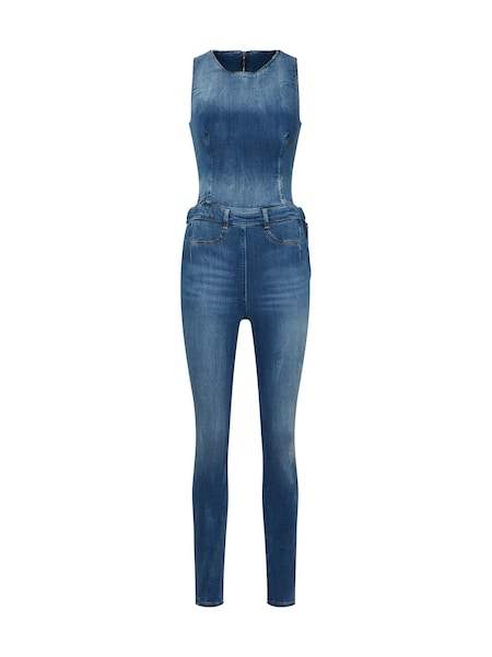 Hosen für Frauen - GUESS Jumpsuit 'SHERRY' blue denim  - Onlineshop ABOUT YOU