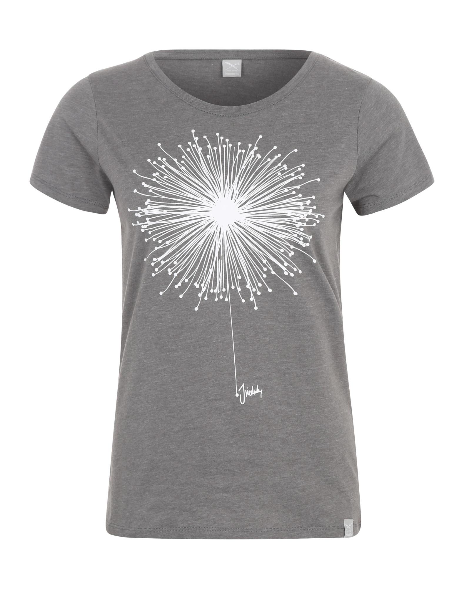 Tričko Blowball šedý melír bílá Iriedaily