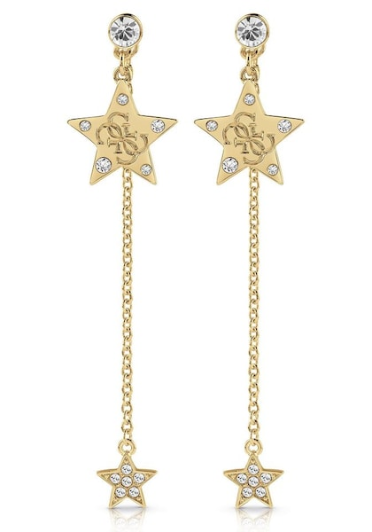 Ohrringe für Frauen - GUESS Ohrstecker 'Stella, UBE28018' gold  - Onlineshop ABOUT YOU