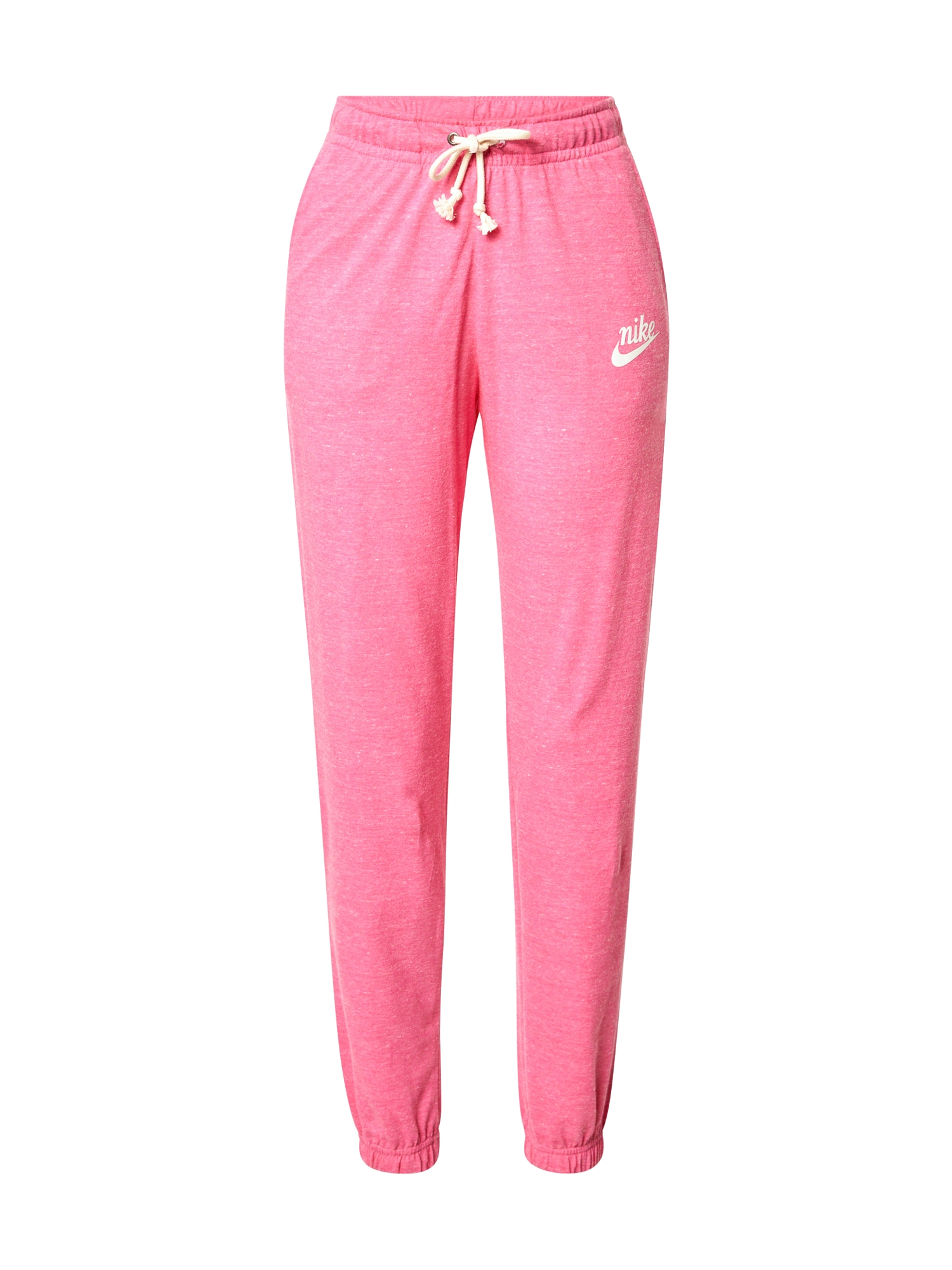 Nike Sportswear Kelnės rožinė / balta