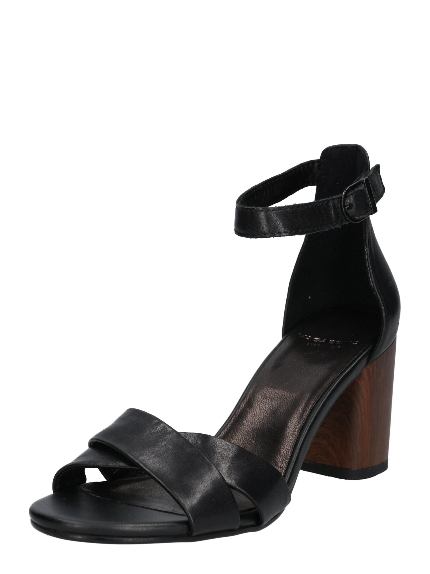 Páskové sandály Carol černá VAGABOND SHOEMAKERS