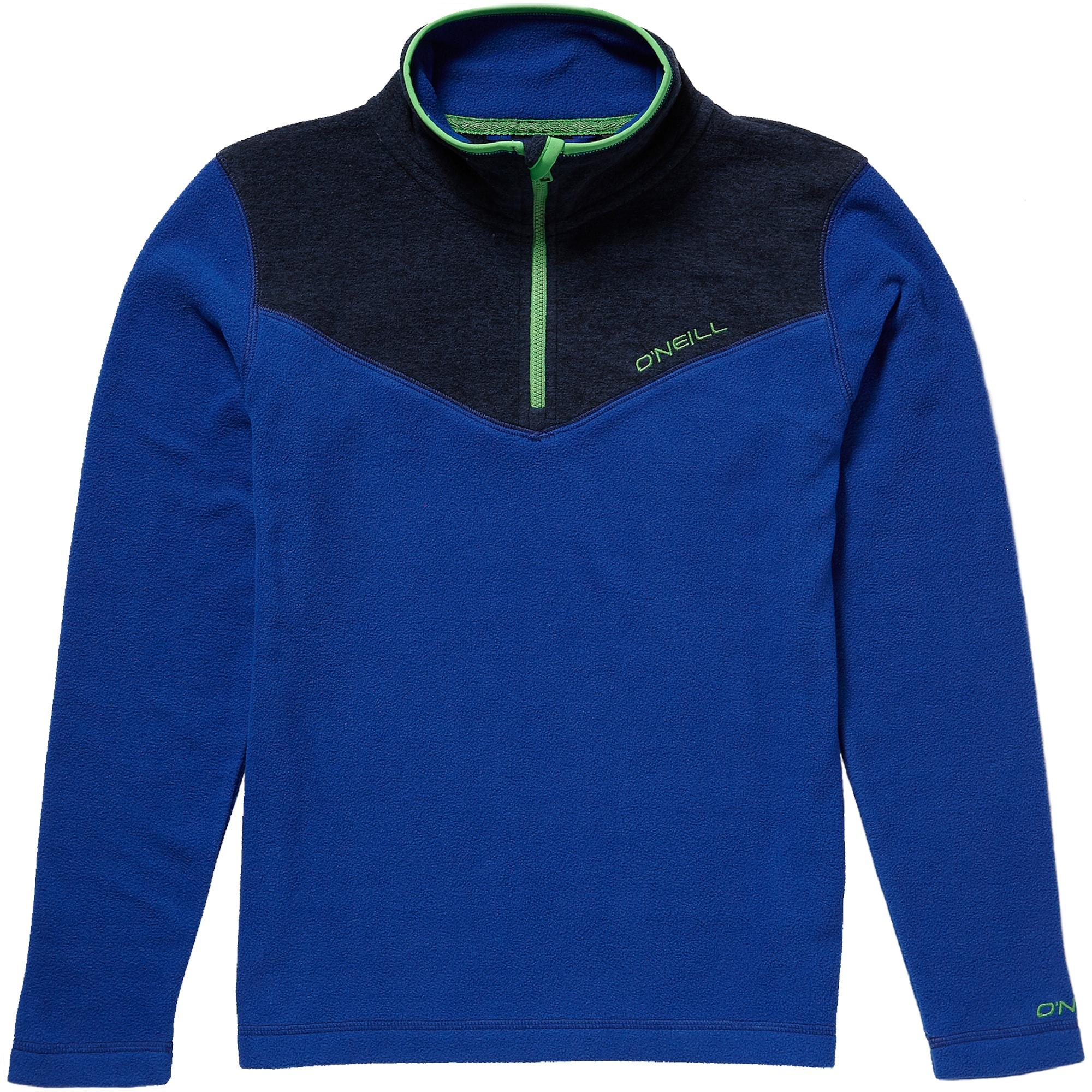 ONEILL Sportovní svetr PB RAILS HZ FLEECE modrá námořnická modř O'NEILL