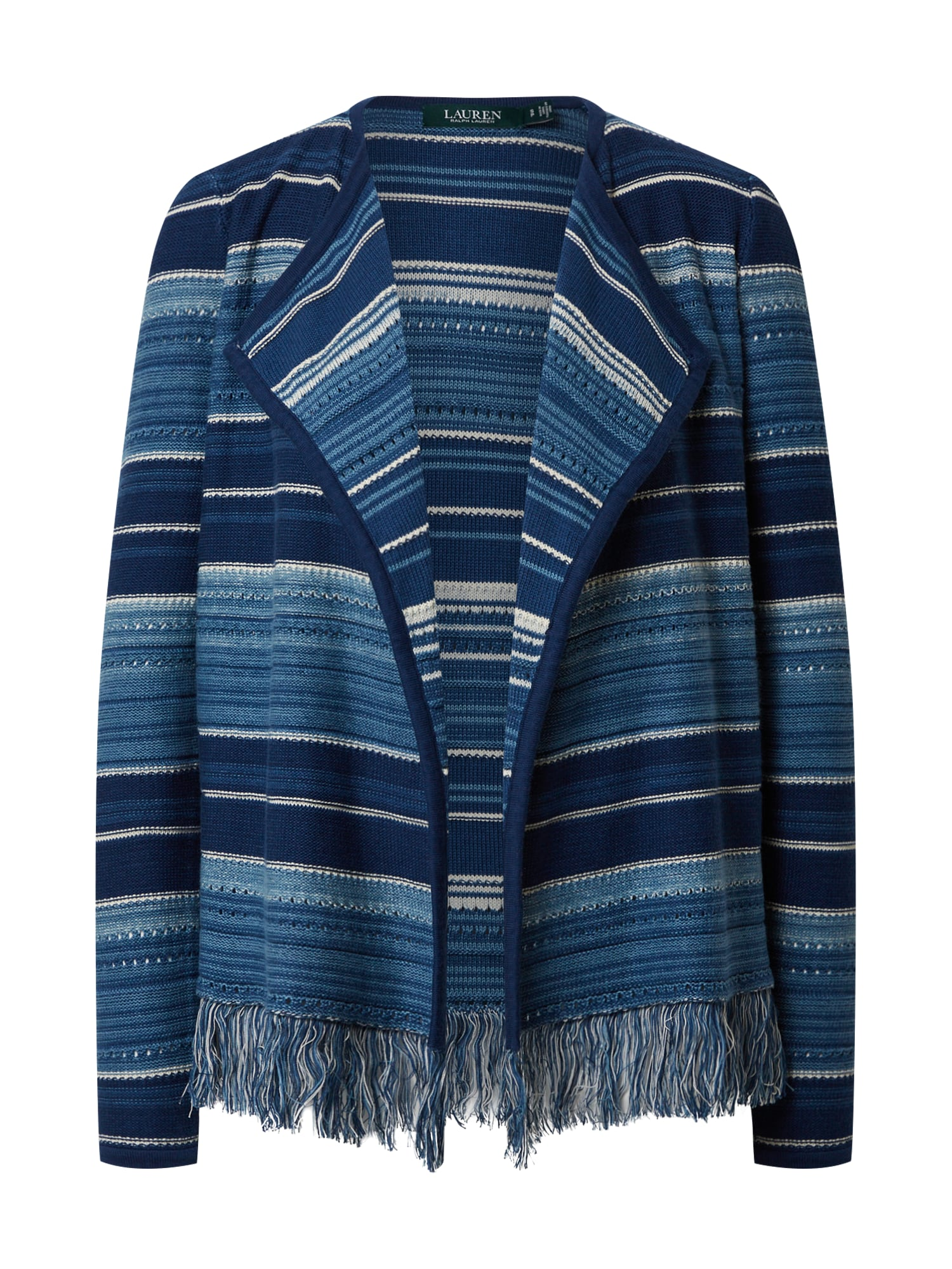 Lauren Ralph Lauren Geacă tricotată 'AZIMA-LONG SLEEVE-SWEATER'  albastru