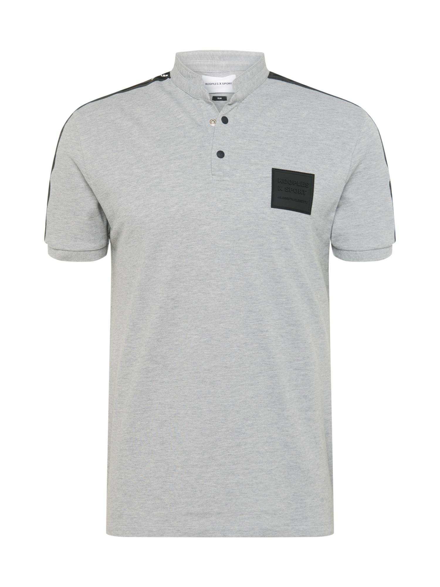 THE KOOPLES SPORT Marškinėliai šviesiai pilka
