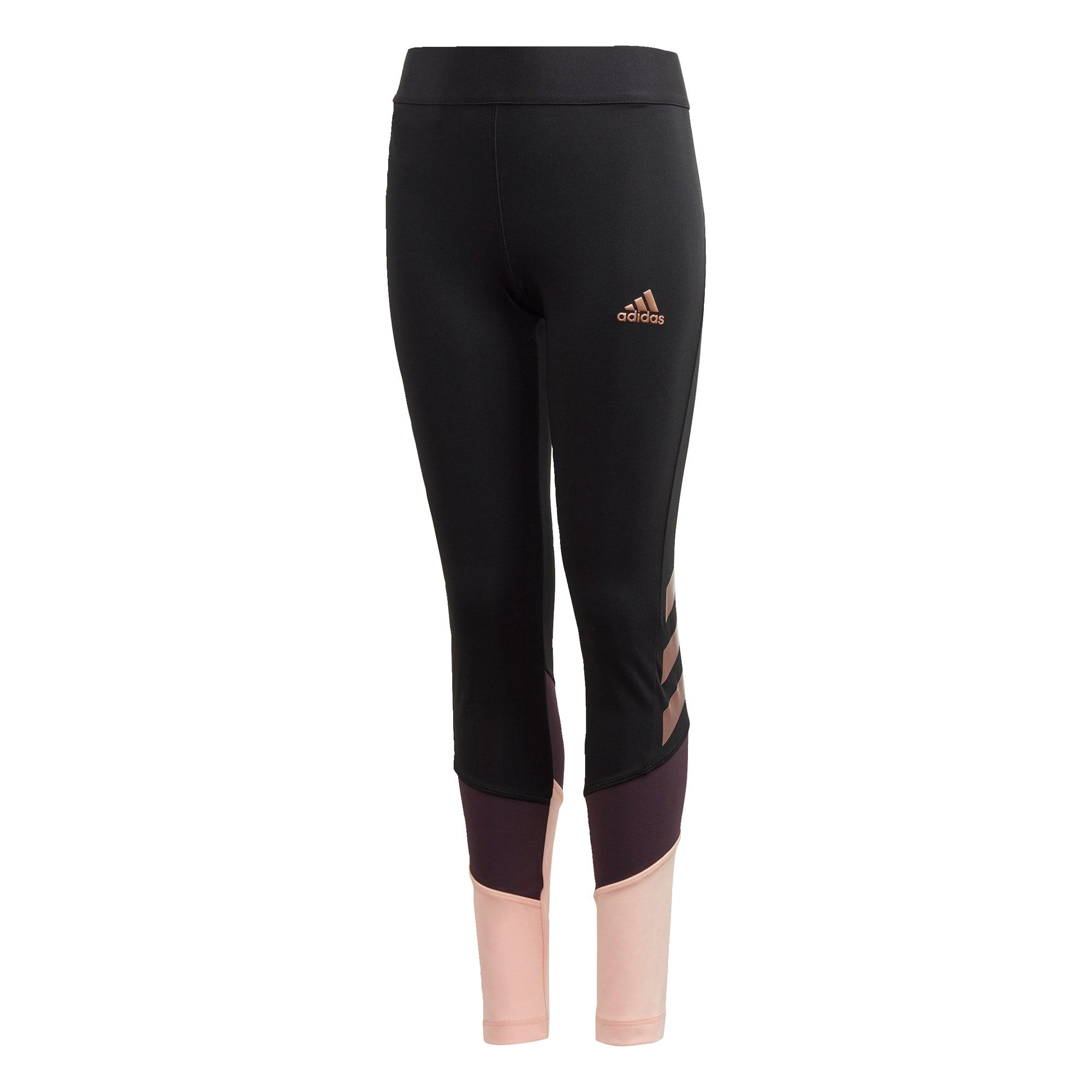 ADIDAS PERFORMANCE Sportovní kalhoty 'The Future Today'  černá / lilek / růžová / starorůžová