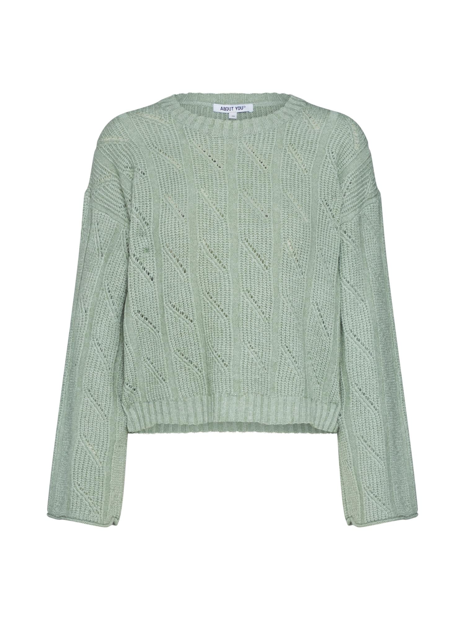 ABOUT YOU Megztinis 'Philippa' mėtų spalva