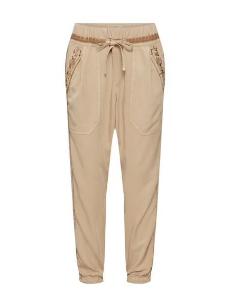 Hosen für Frauen - Cream Hosen 'Belena' hellbeige mokka  - Onlineshop ABOUT YOU