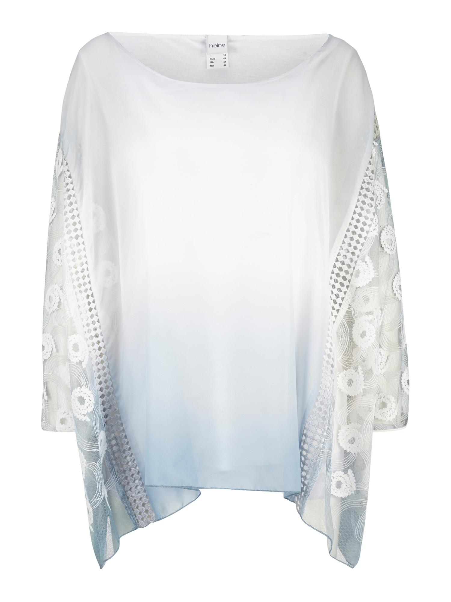 heine Tunika balta / šviesiai mėlyna