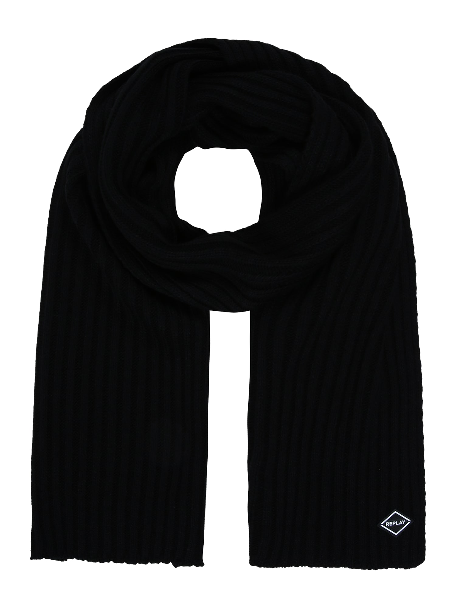REPLAY Fular  negru