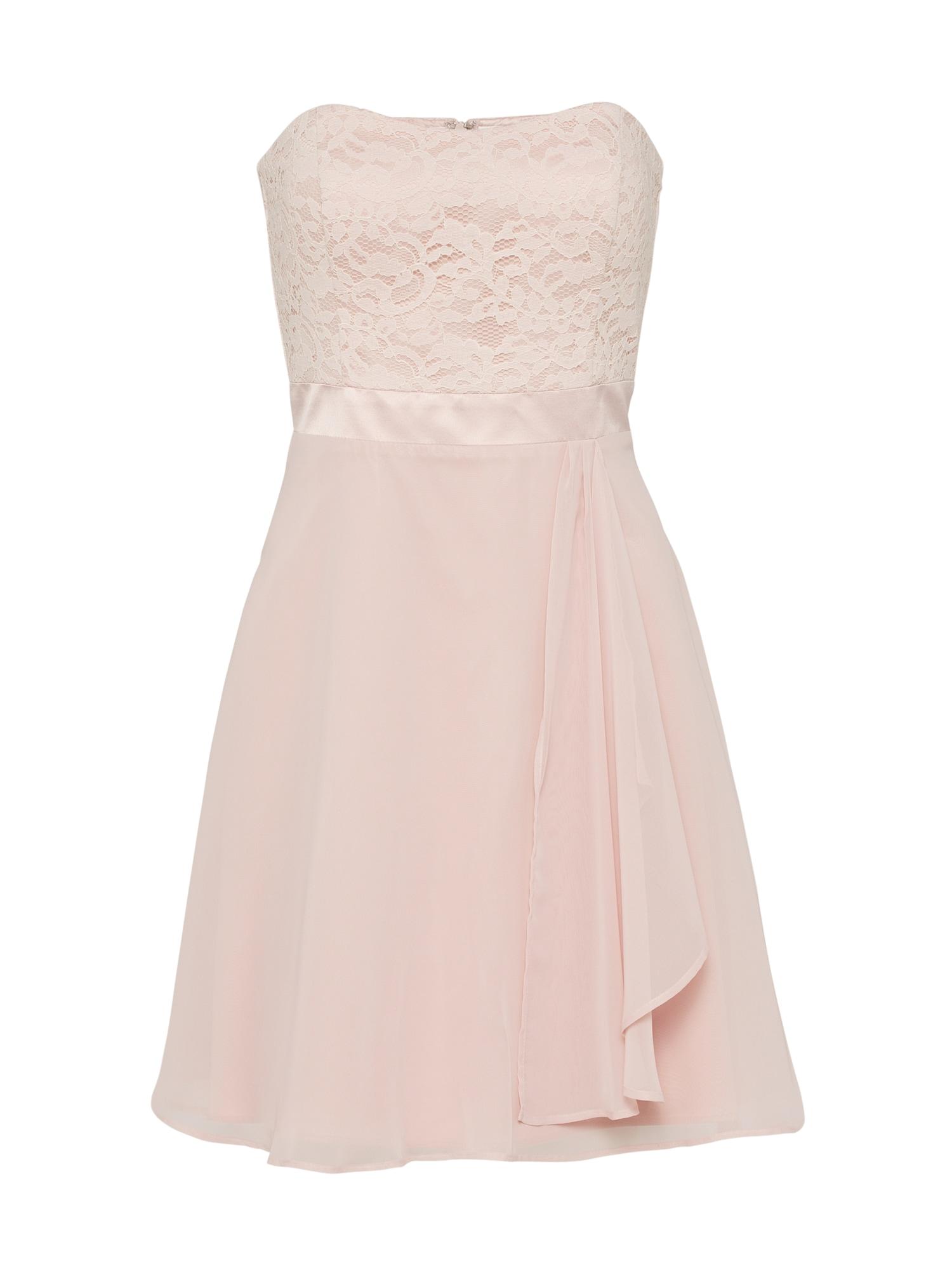 Koktejlové šaty růže VM Vera Mont