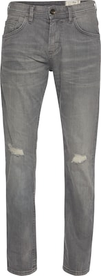 TOM TAILOR DENIM Jeans 'PIERS super slim grey denim'