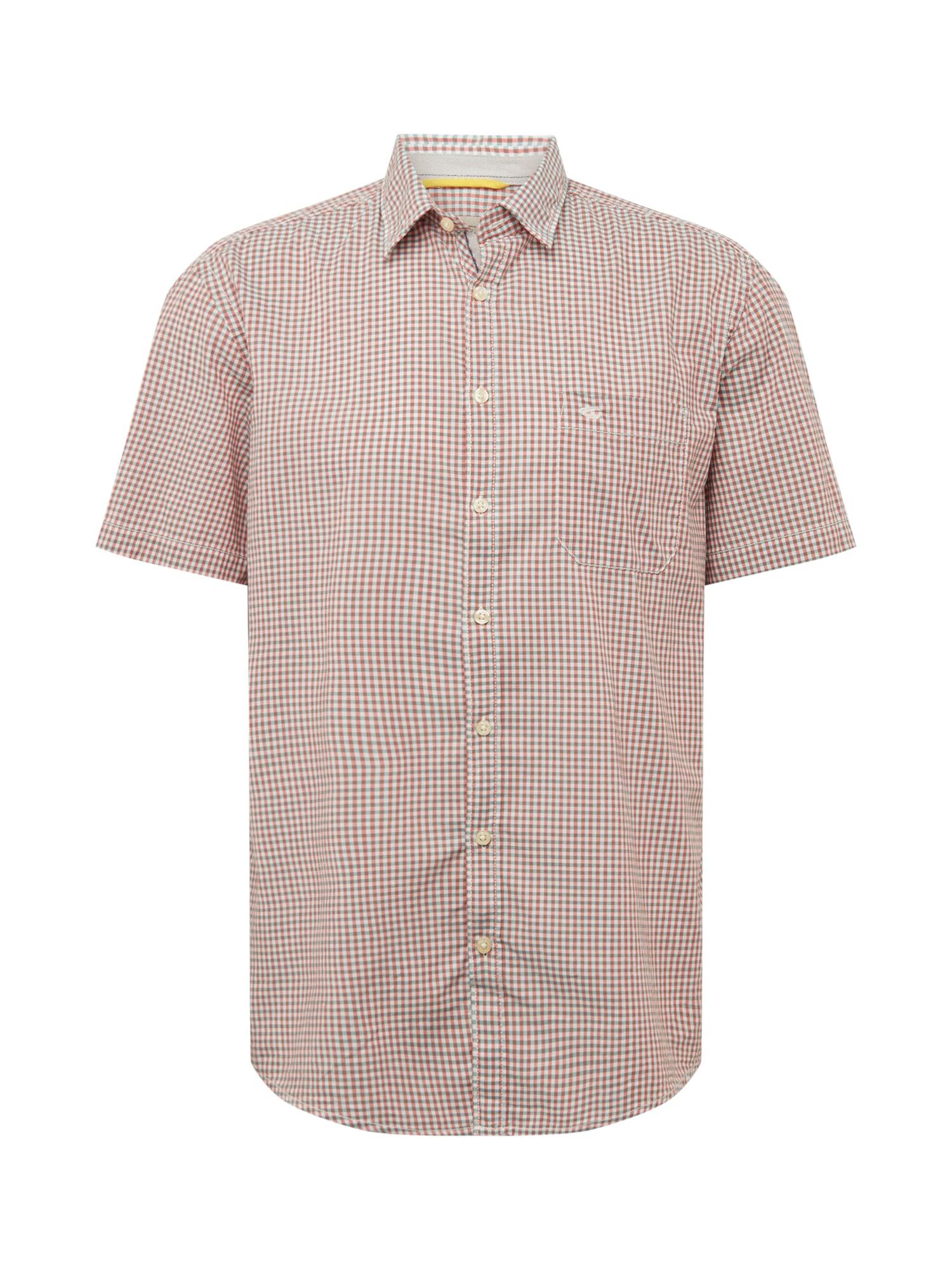 CAMEL ACTIVE Marškiniai pastelinė rožinė / balta / uogų spalva