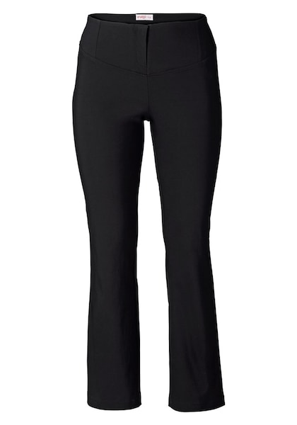 Hosen - Shaping Hose im Bootcut Look › SHEEGO › schwarz  - Onlineshop ABOUT YOU