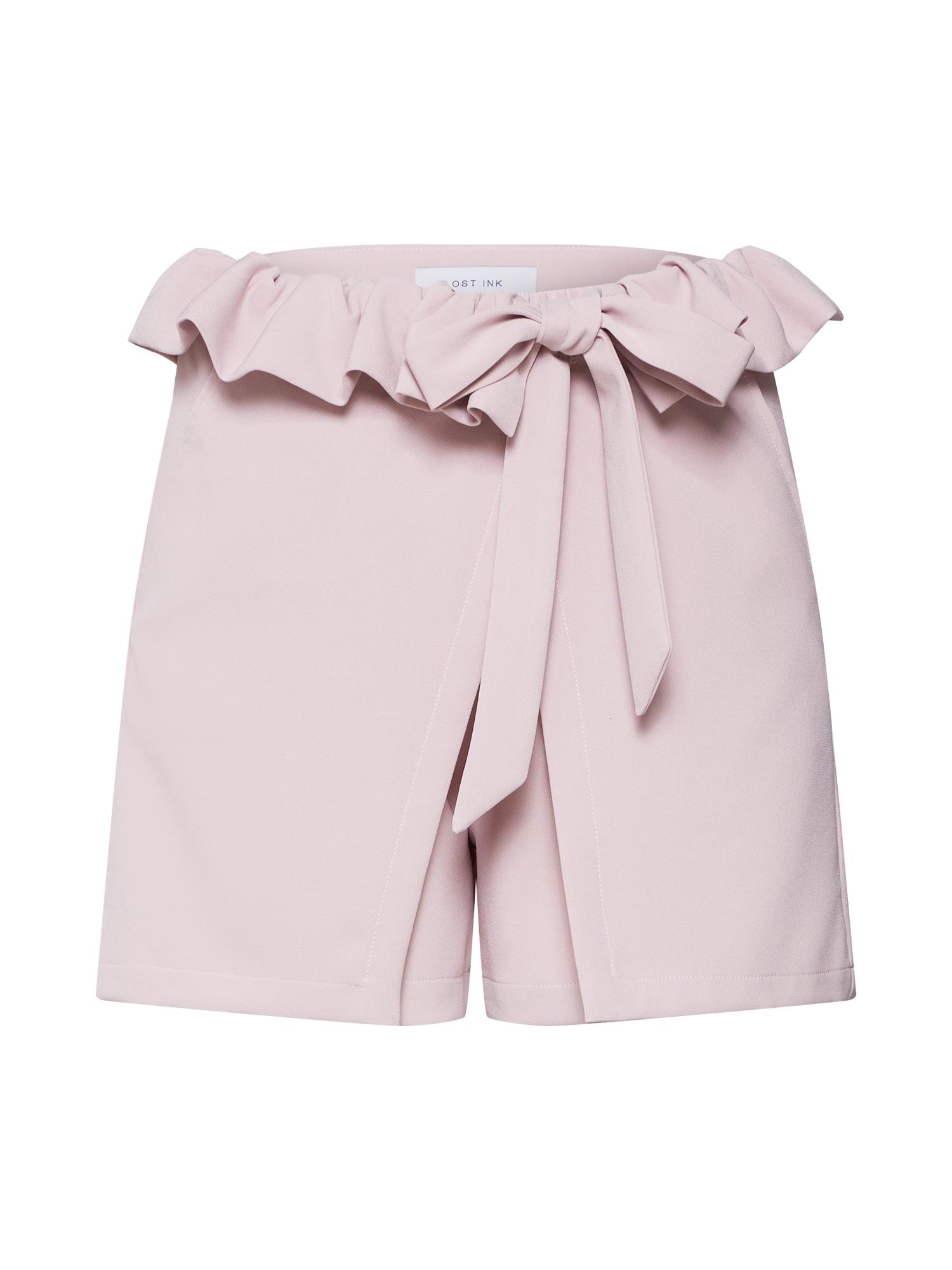 Kalhoty růžová Lost Ink