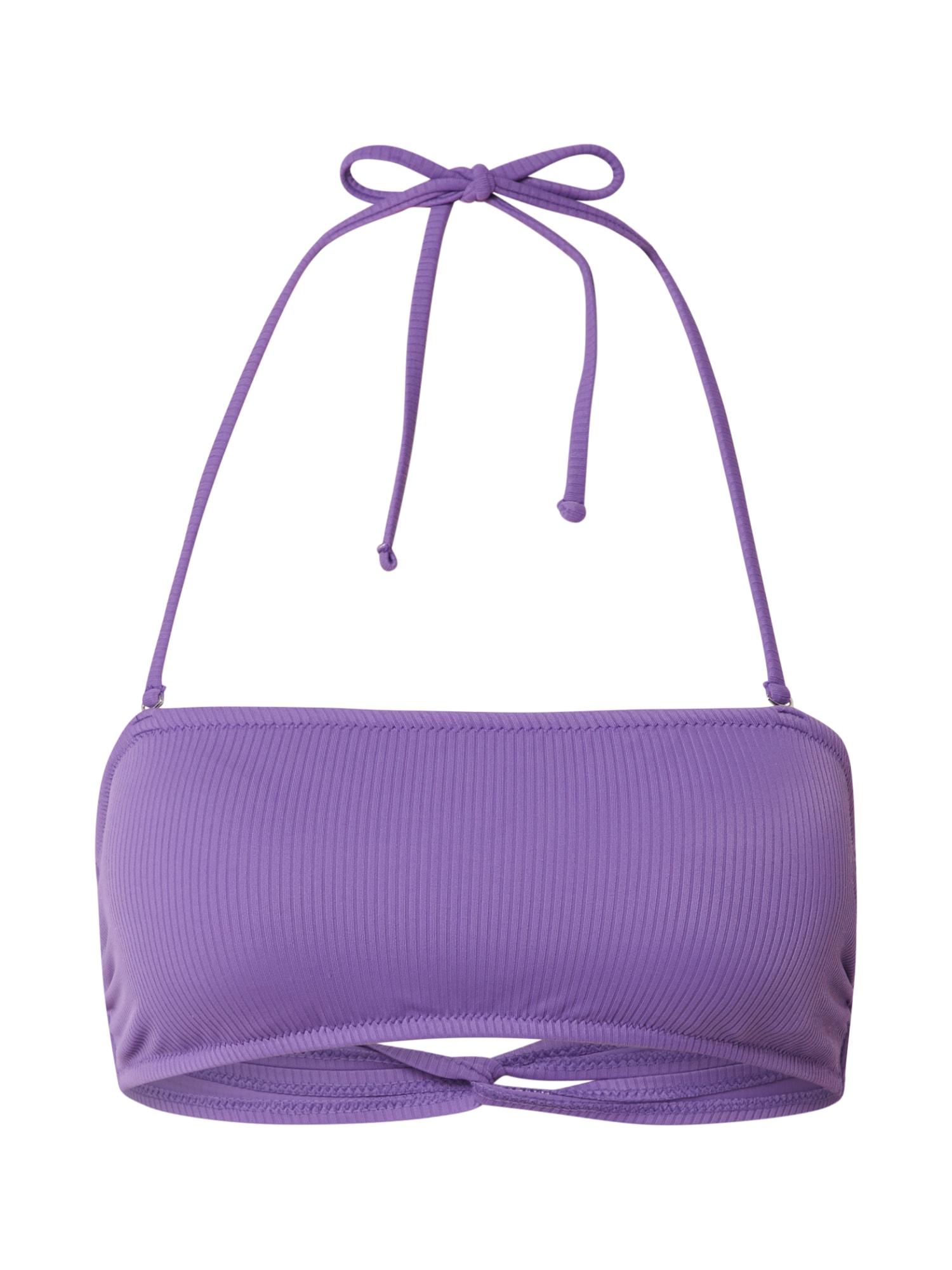 EDITED Bikinový top 'Tasha'  purpurové