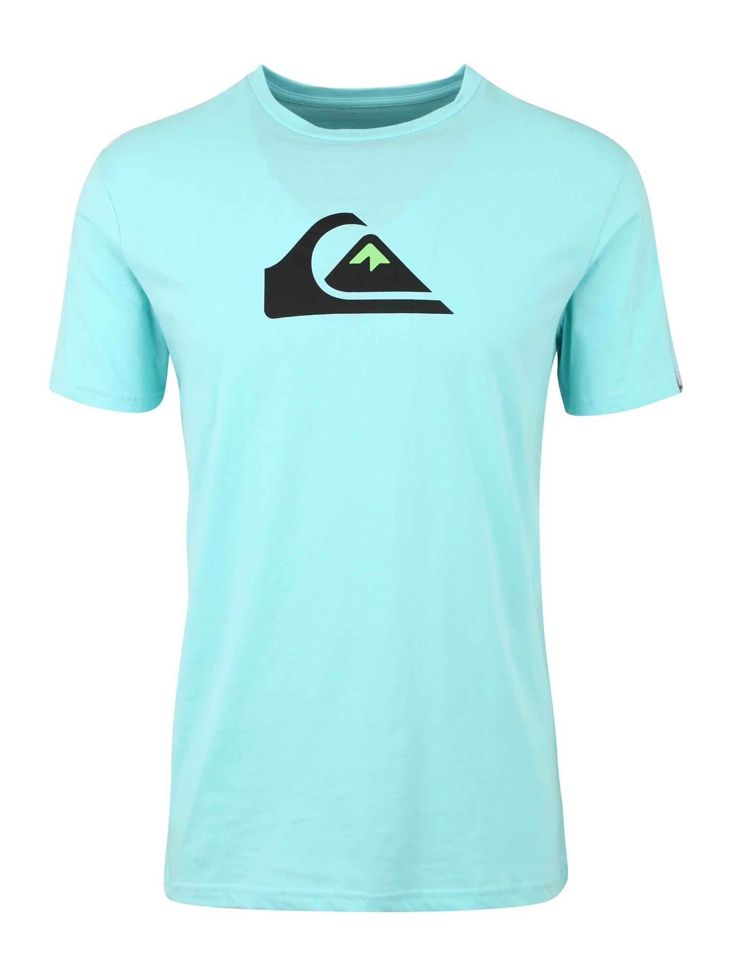 Funkční tričko M AND W aqua modrá QUIKSILVER