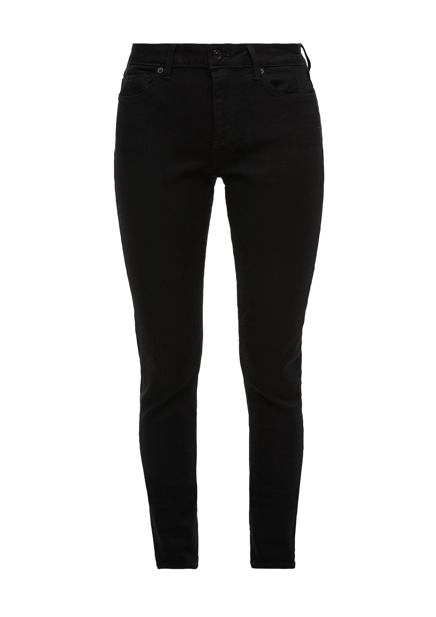 Q/S designed by Džinsai juodo džinso spalva
