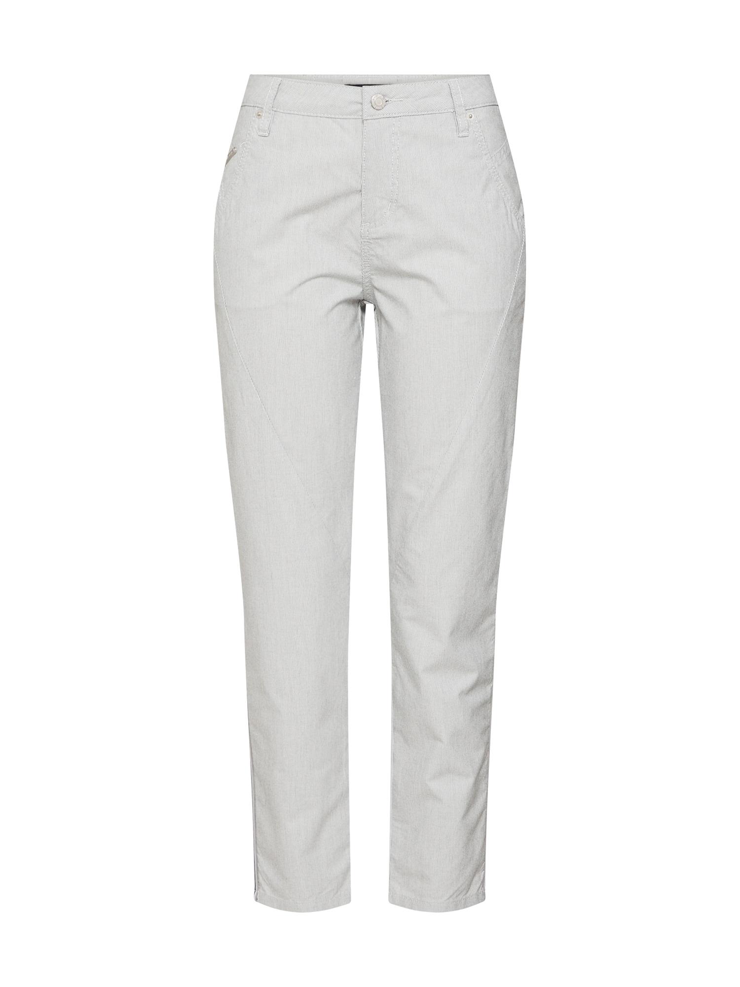 Kalhoty světle šedá OPUS