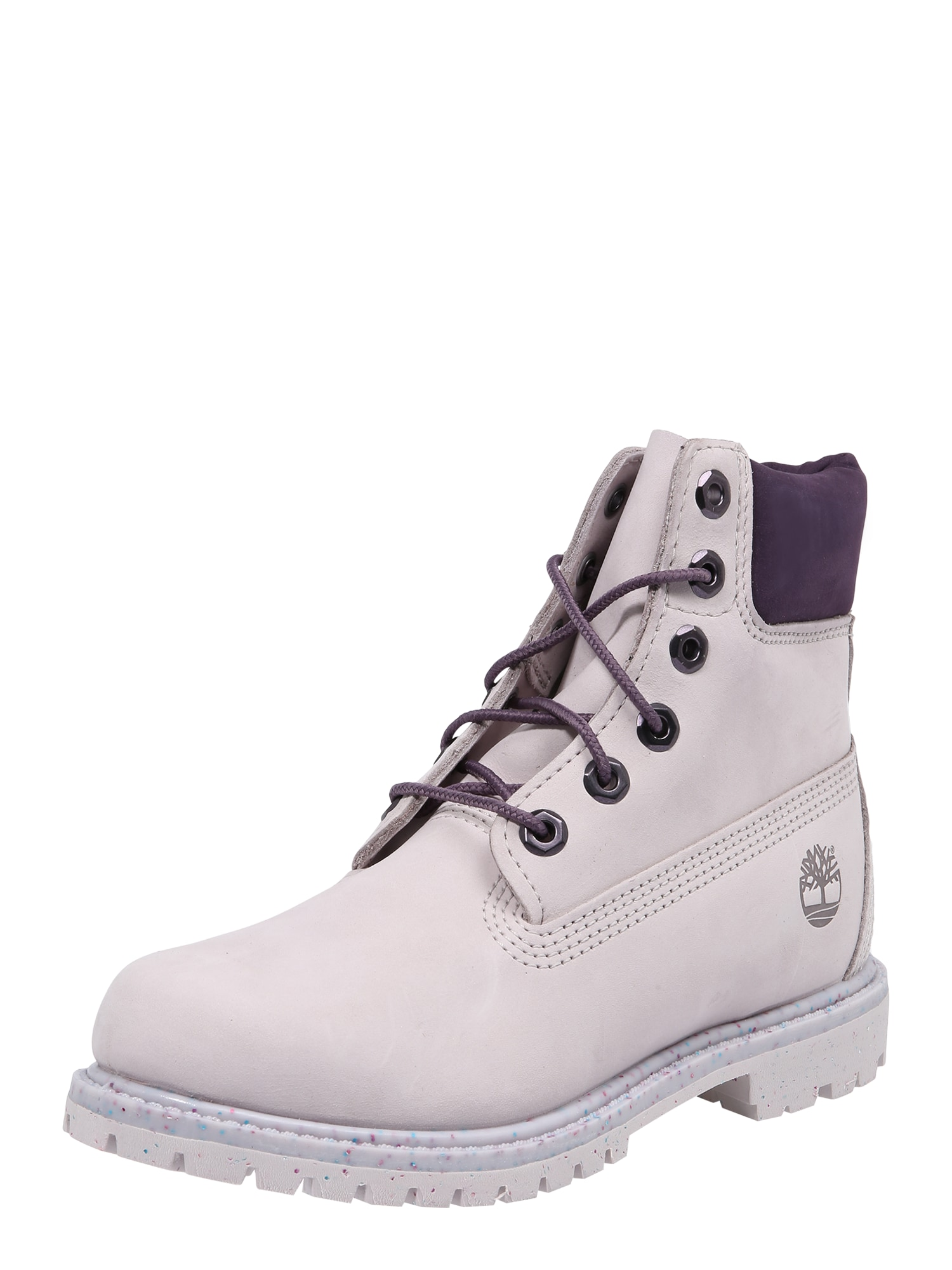 Šněrovací kozačky 6in Premium Boot šeříková TIMBERLAND