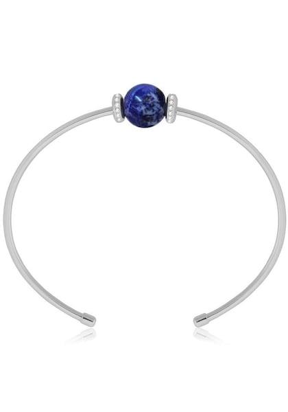 Armbaender für Frauen - FIRETTI Armspange blau silber  - Onlineshop ABOUT YOU