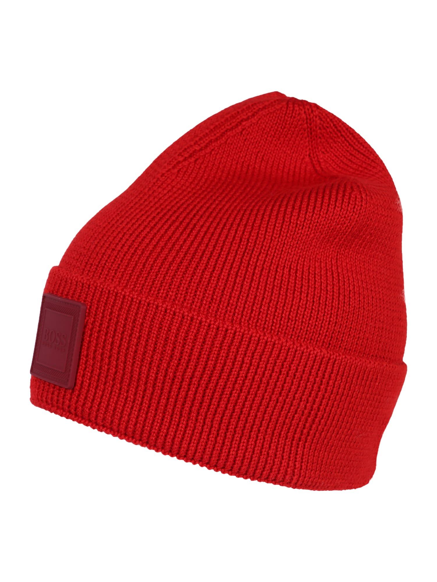 Čepice Foxx 10220955 01 červená BOSS