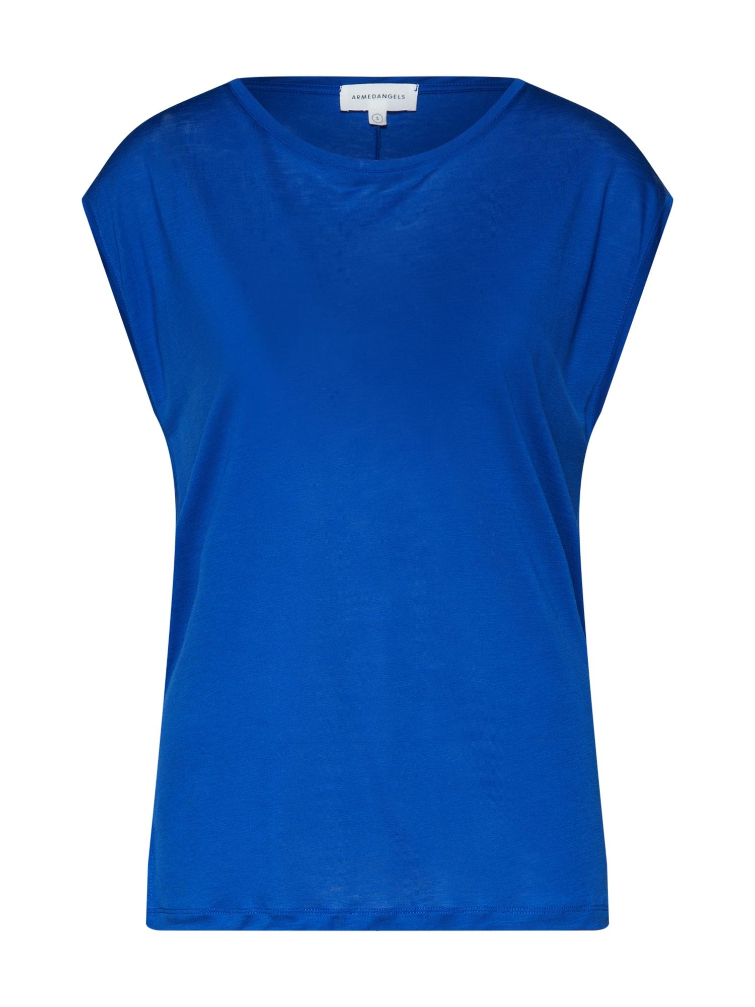 Tričko Jil královská modrá ARMEDANGELS