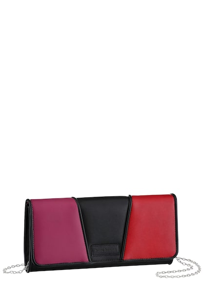 Clutches für Frauen - Clutch › Bruno Banani › cyclam rubinrot schwarz  - Onlineshop ABOUT YOU