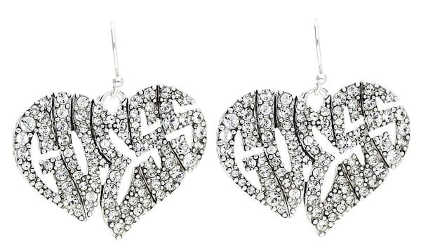 Ohrringe für Frauen - GUESS Ohrhänger 'UBE41102' silber  - Onlineshop ABOUT YOU