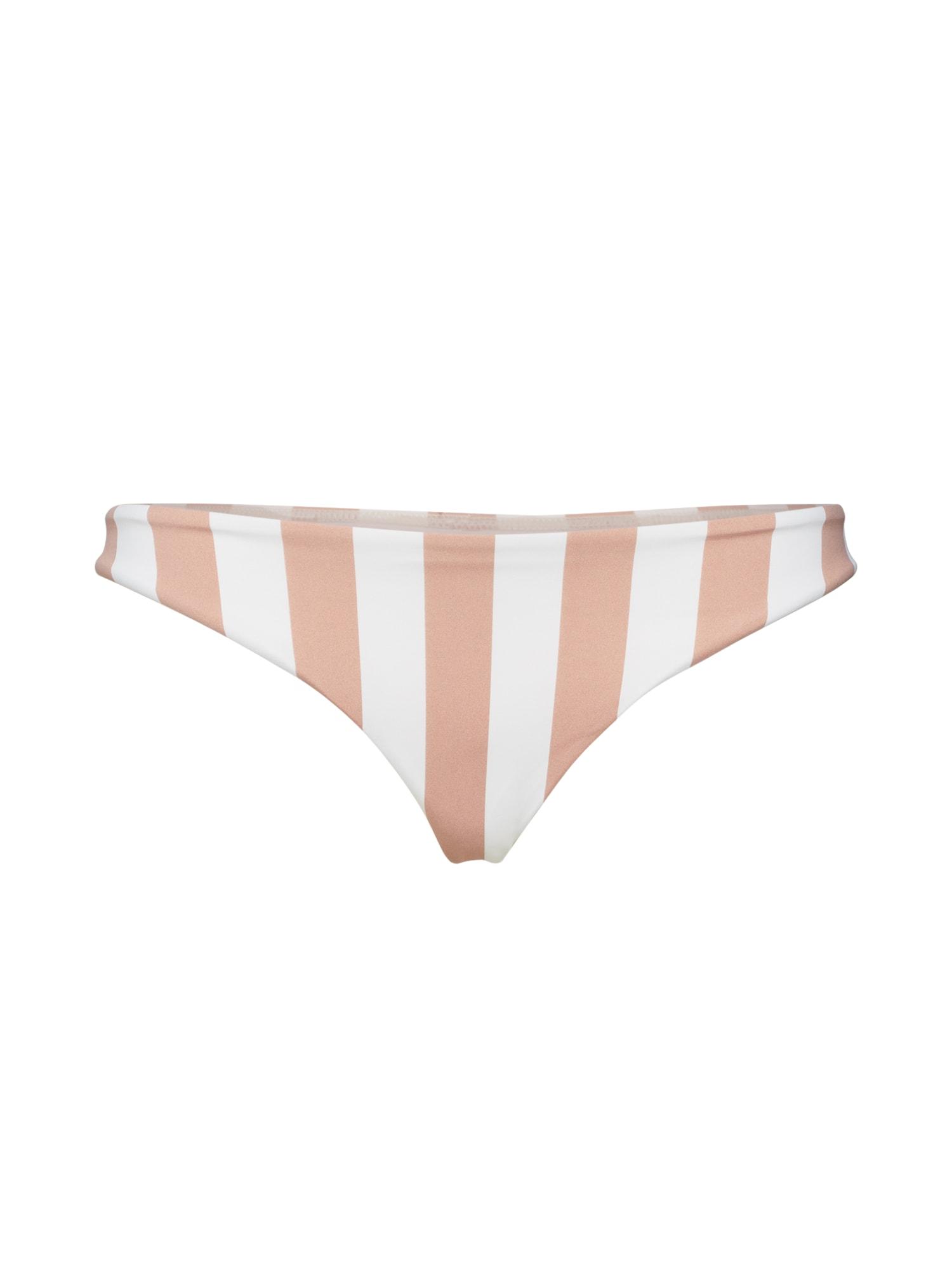 BILLABONG Bikinové nohavičky 'shady sands tropic'  biela / béžová