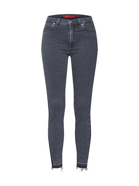 Hosen für Frauen - Jeans 'Gerna 16' › HUGO › grau  - Onlineshop ABOUT YOU