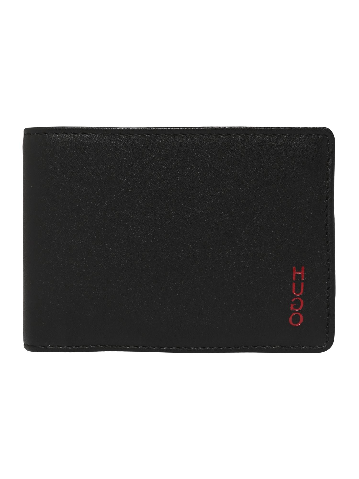 Peněženka Subway VL_6 cc flap černá HUGO