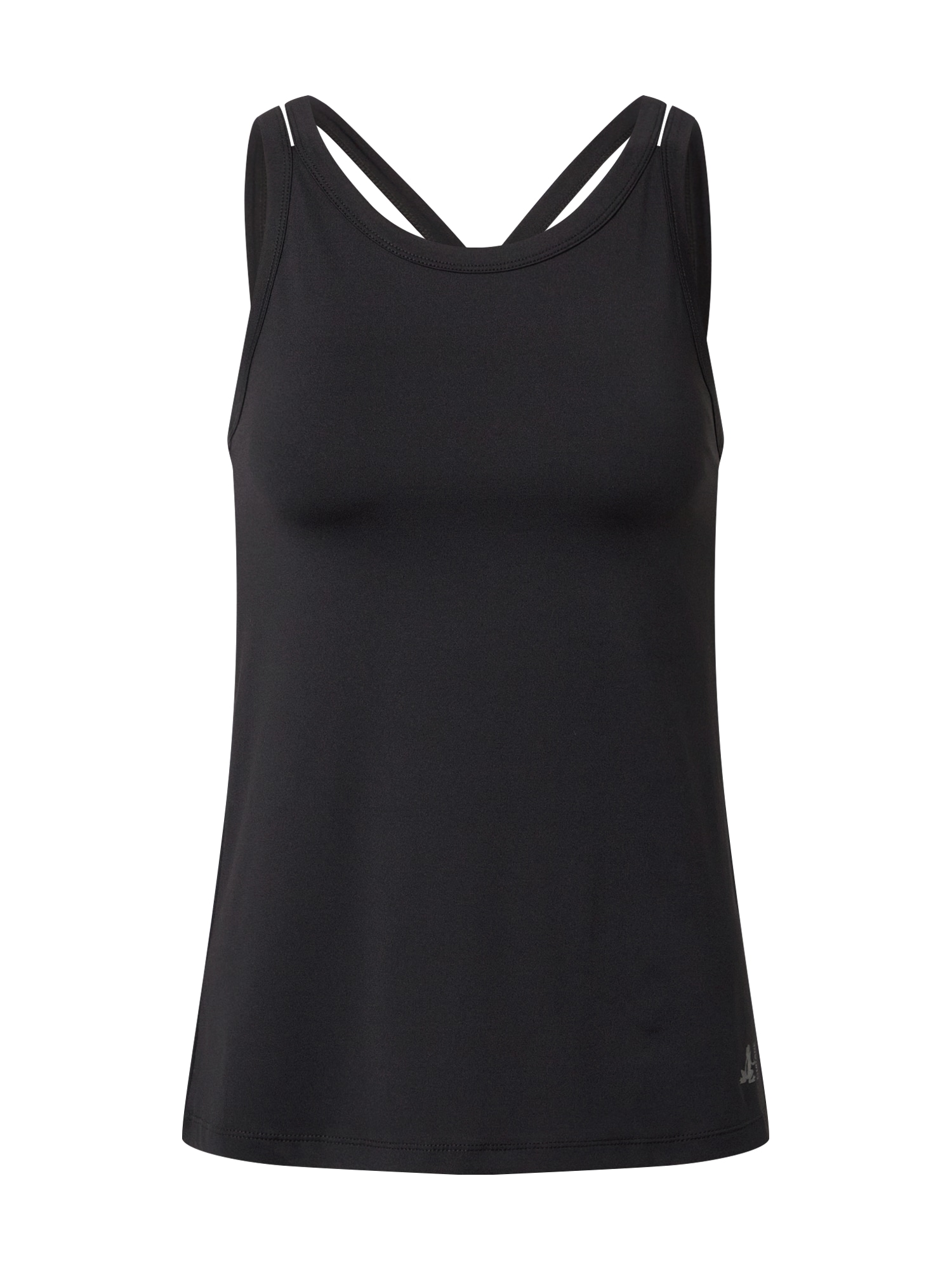 CURARE Yogawear Sportiniai marškinėliai be rankovių juoda