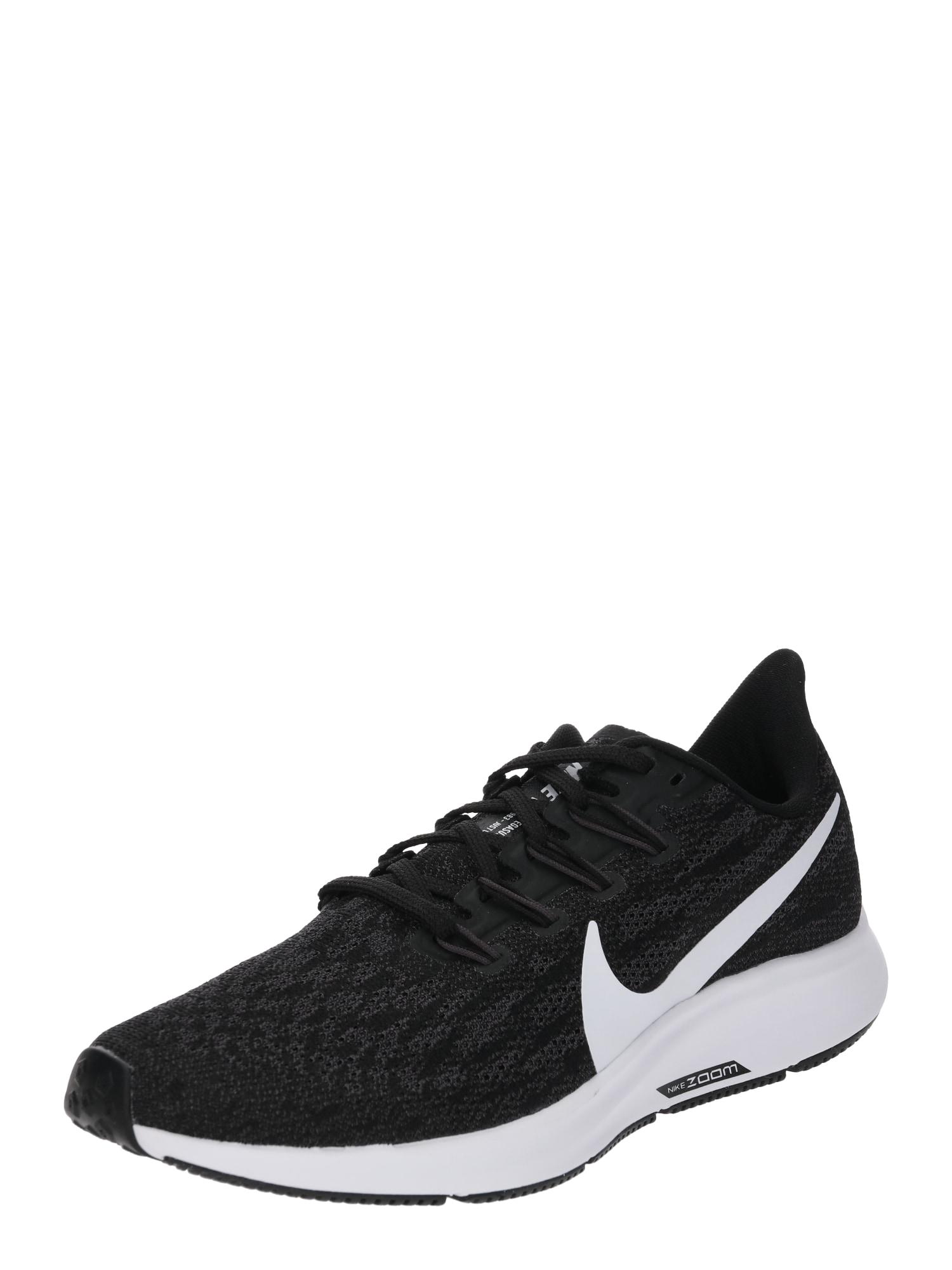 Běžecká obuv PEGASUS 36 černá bílá NIKE