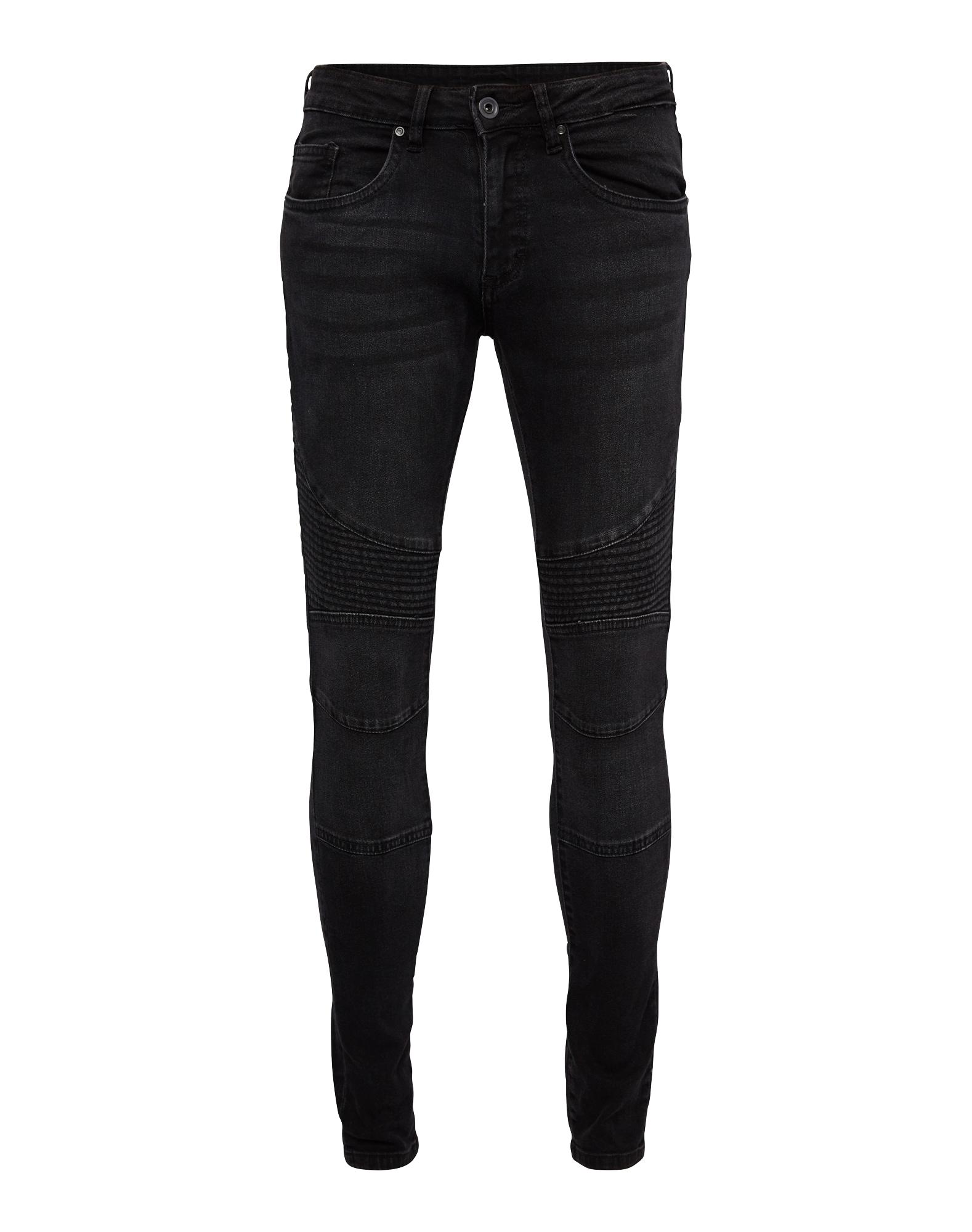 Urban Classics Džinsai juodo džinso spalva