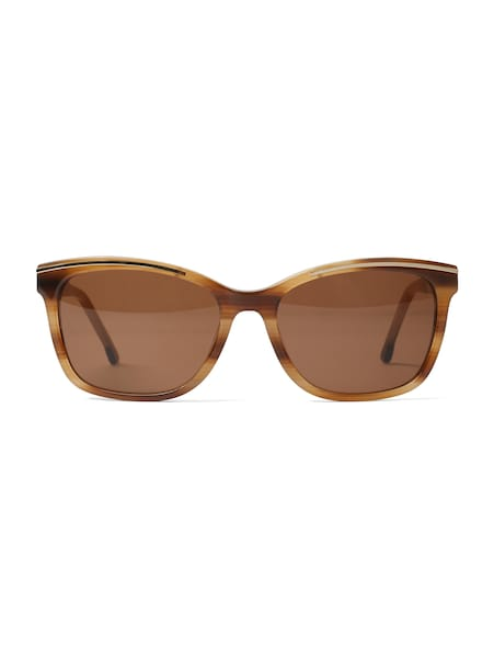 Sonnenbrillen - Sonnenbrille › TOM TAILOR › braun hellbraun gold  - Onlineshop ABOUT YOU