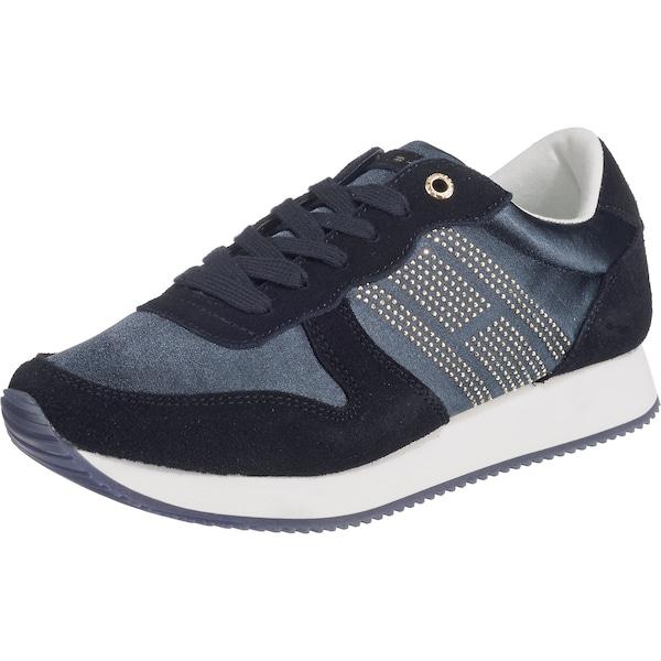 Sneakers für Frauen - Sneakers › Tommy Hilfiger › navy weiß  - Onlineshop ABOUT YOU