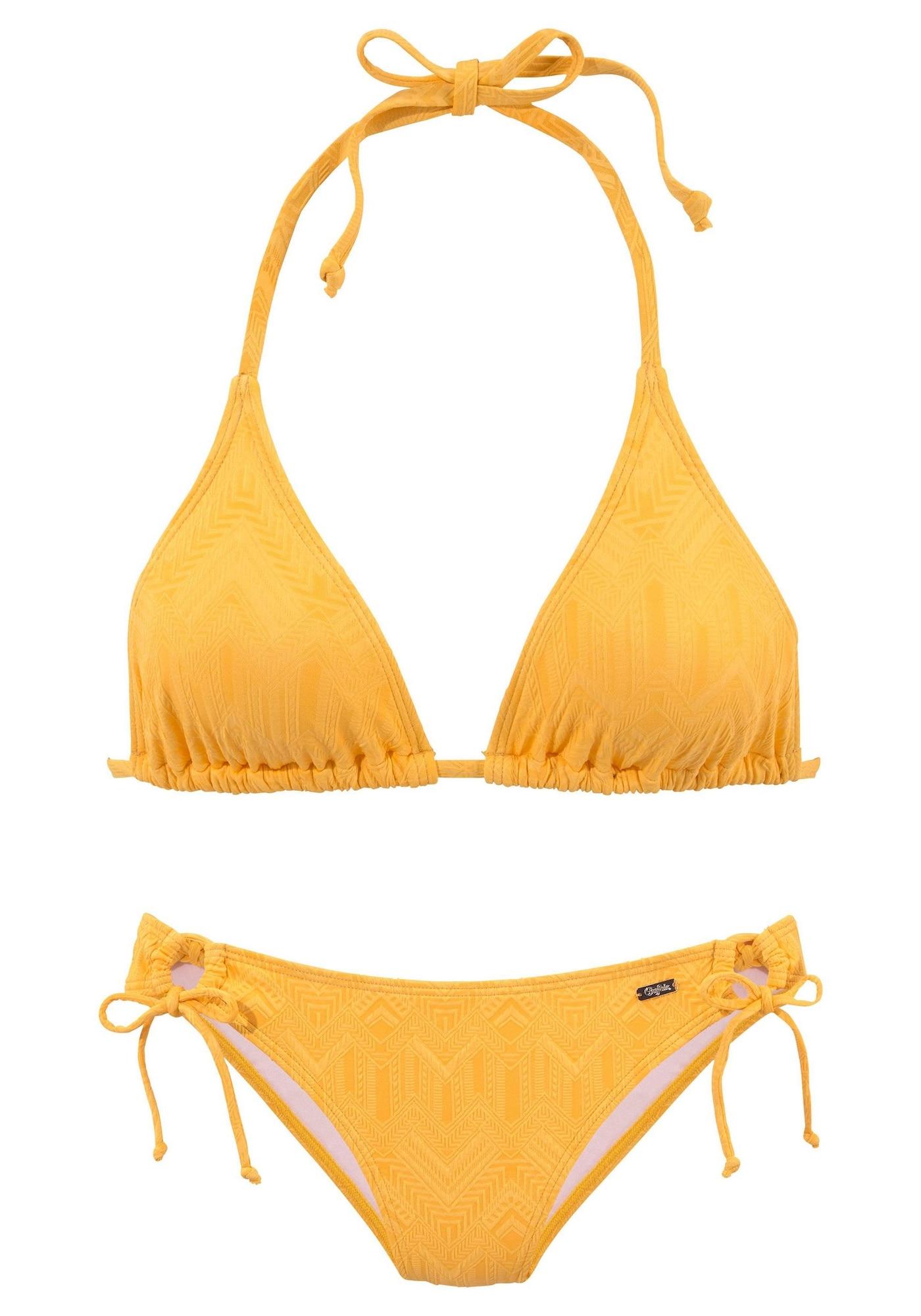 BUFFALO Bikinis geltona