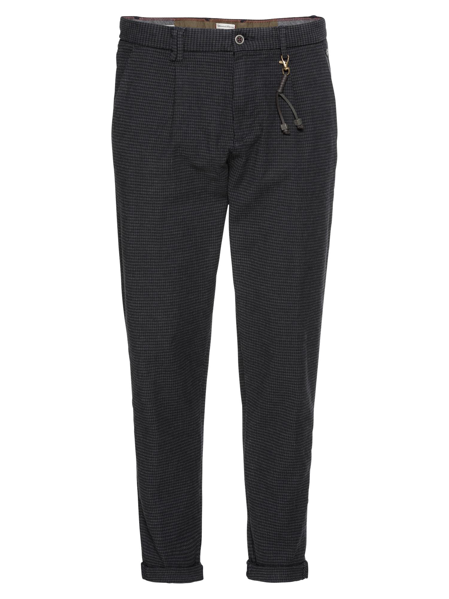 Chino kalhoty námořnická modř JACK & JONES
