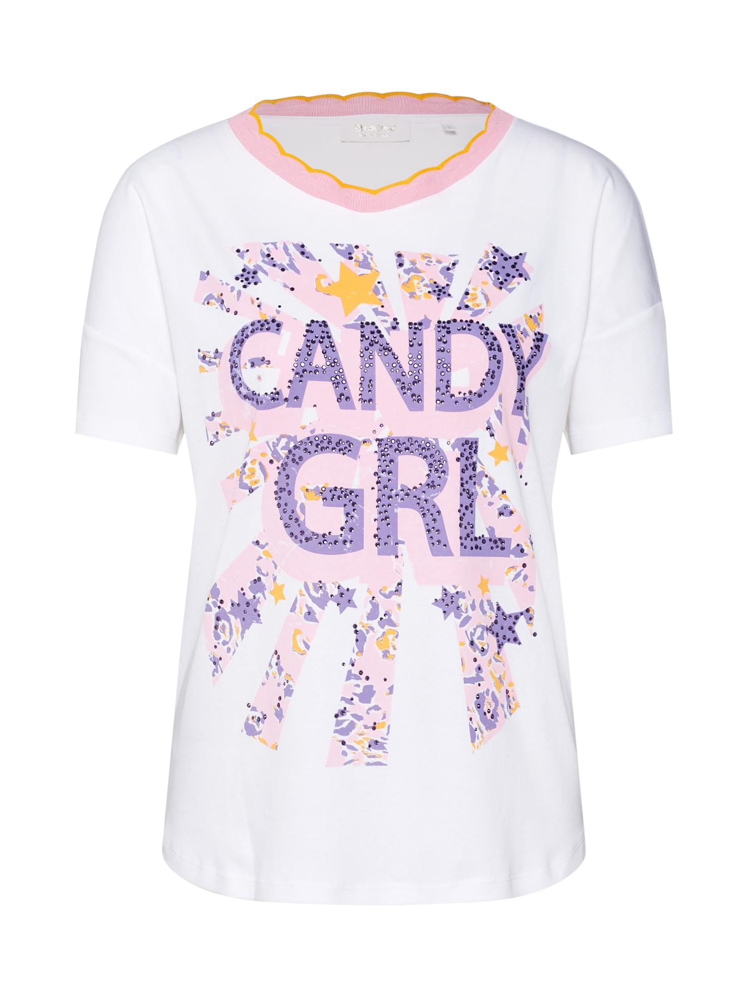 Tričko Candy GRL fialová pink bílá Rich & Royal