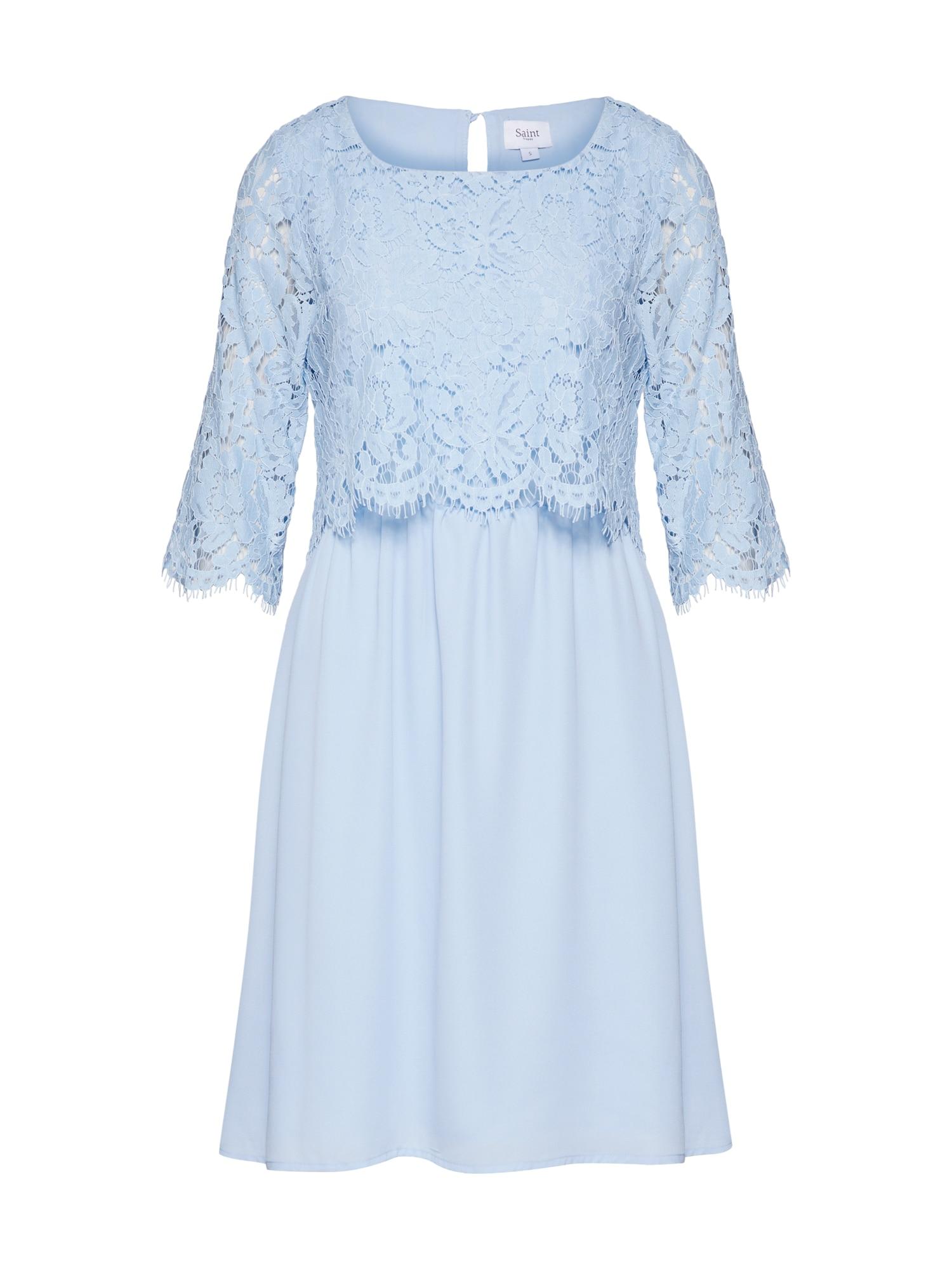Šaty modrá světlemodrá SAINT TROPEZ