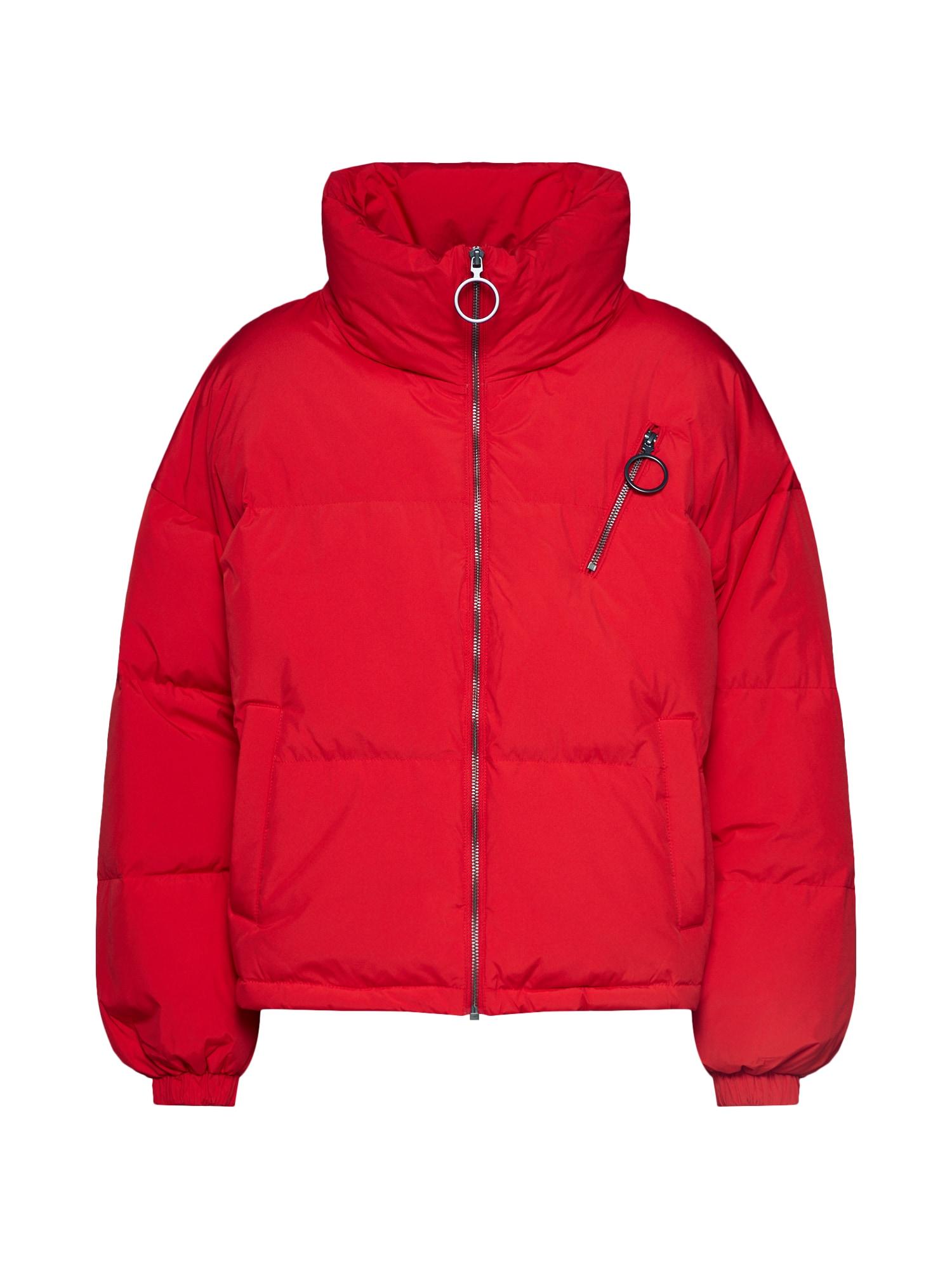 UNITED COLORS OF BENETTON Žieminė striukė raudona