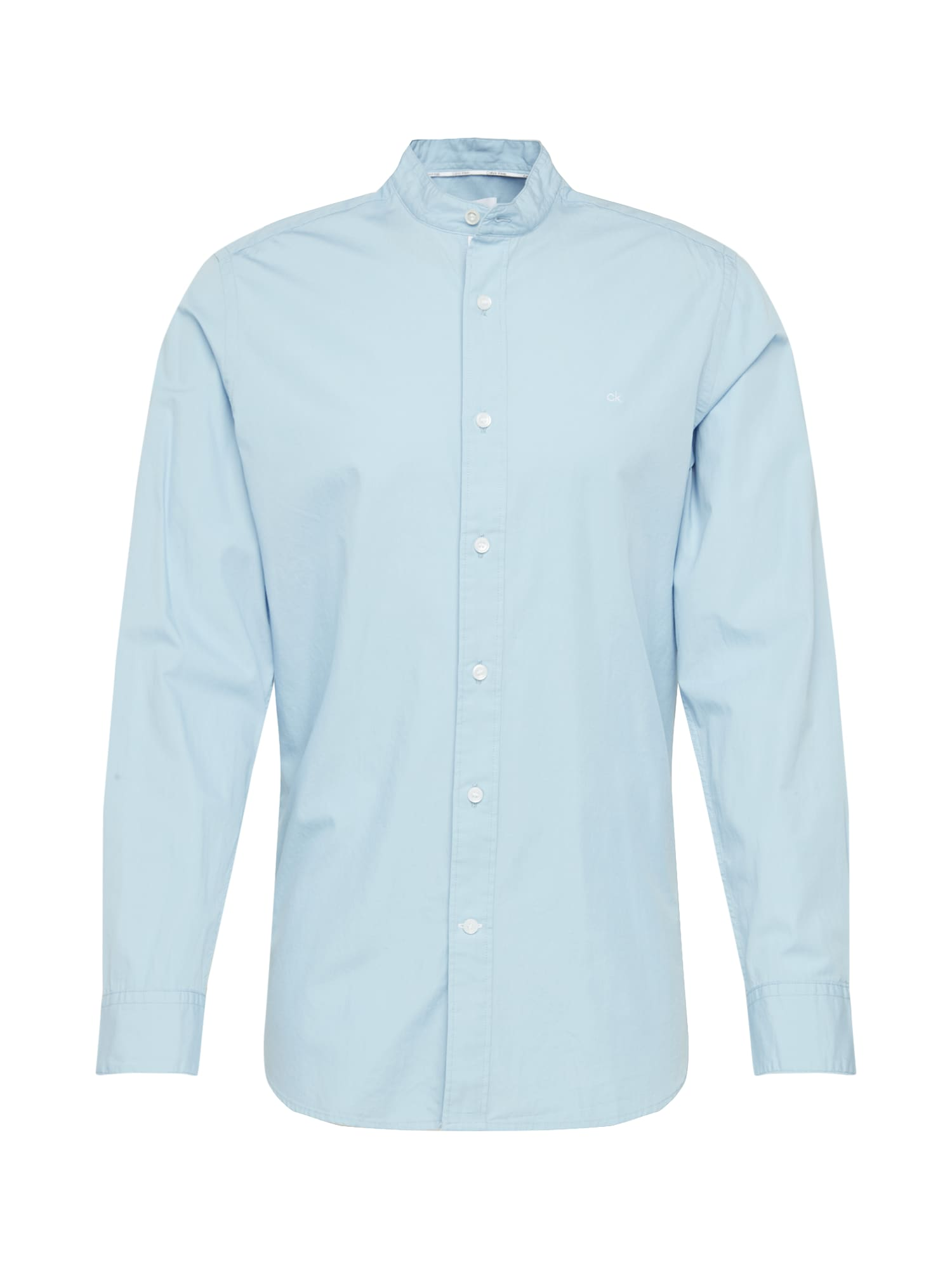 Calvin Klein Dalykiniai marškiniai šviesiai mėlyna