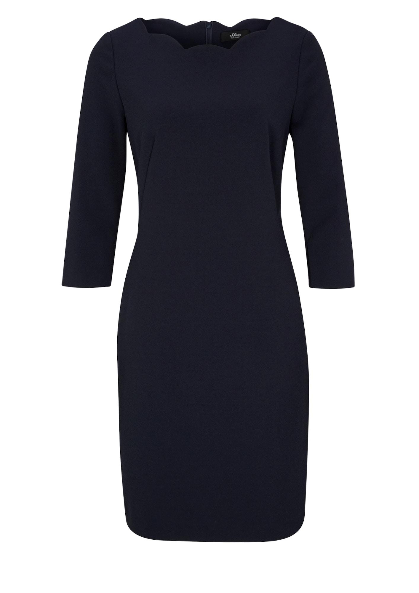 s.Oliver BLACK LABEL Šaty  modré