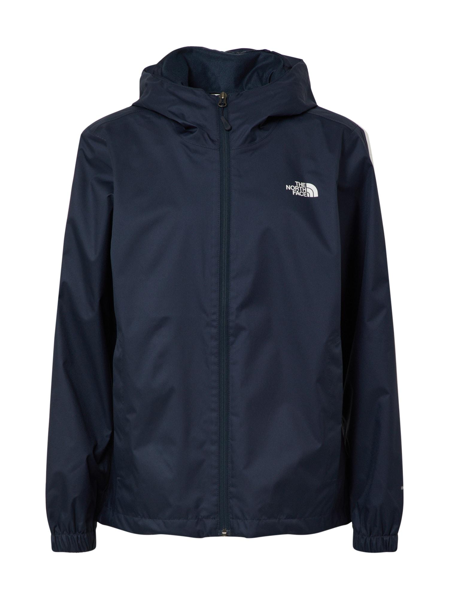 THE NORTH FACE Outdoorová bunda 'Quest'  bílá / námořnická modř