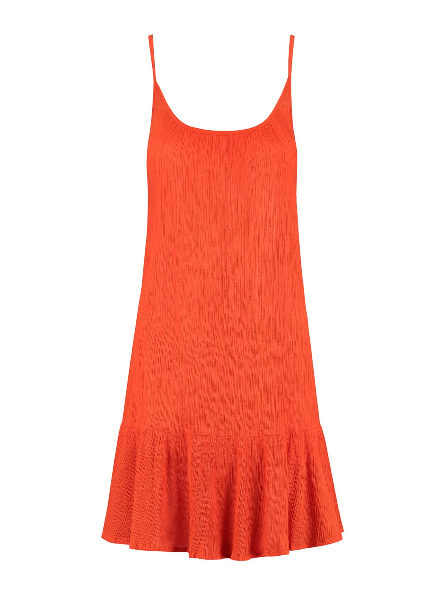 Shiwi Plážové šaty  oranžovo červená